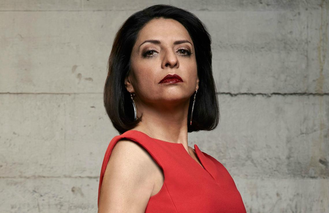 Veronica Falcón in Queen of the South. (USA)