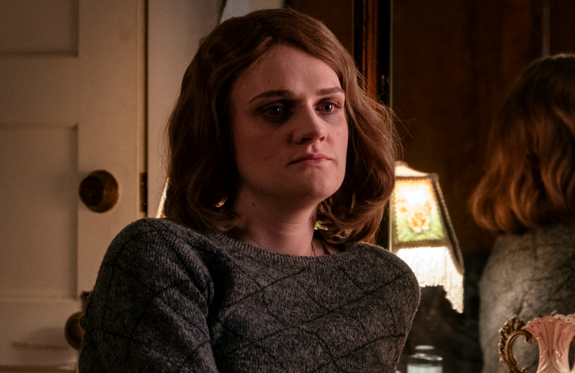 Gayle Rankin in Perry Mason. (HBO)