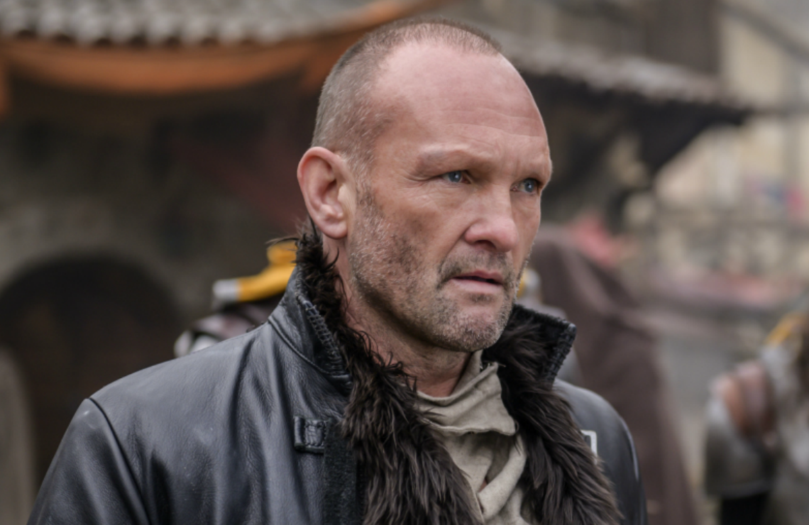 Andrew Howard in The Outpost. (The CW)