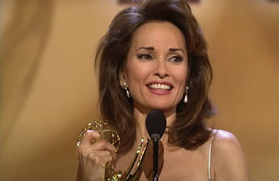 Susan Lucci at the 1999 Daytime Emmy Awards.  (CBS)