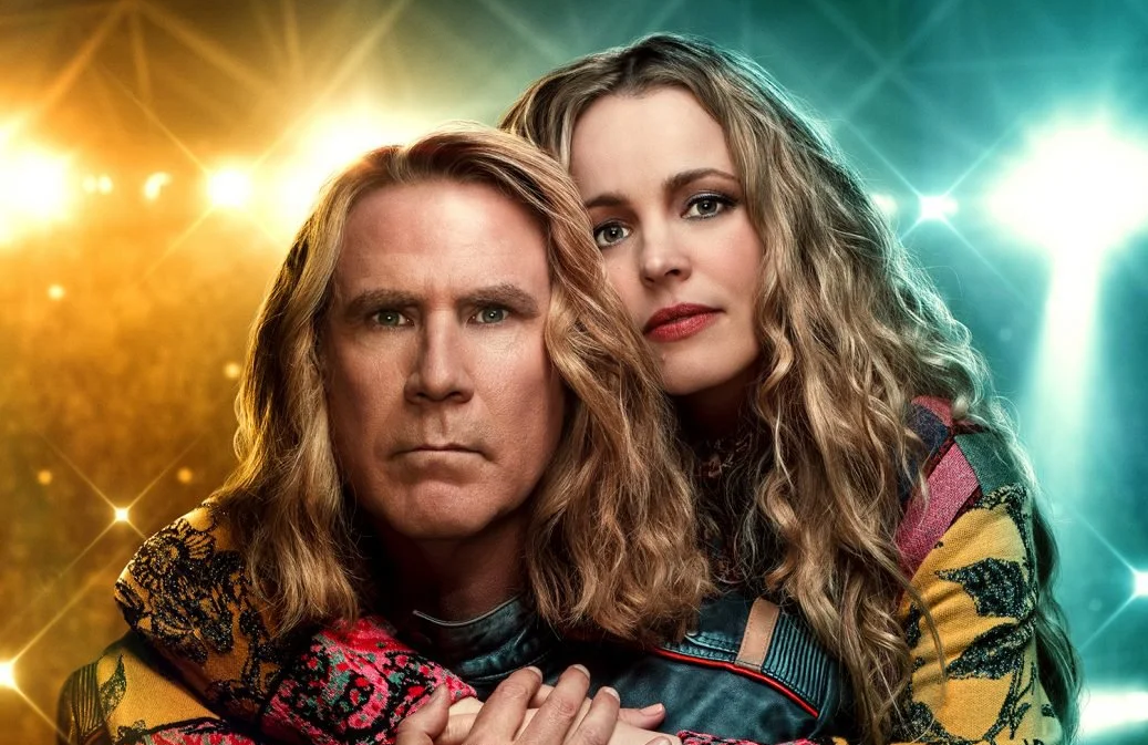 Will Ferrell and Rachel McAdams in Eurovision Song Contest: The Story of Fire Saga. (Netflix)