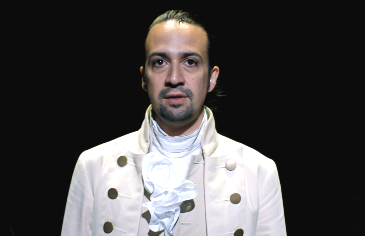 Lin-Manuel Miranda in the original Broadway production of Hamilton. (Photo: Disney+)