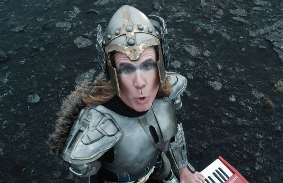 Will Ferrell is Lars Erickssong in Eurovision Song Contest: The Story of Fire Saga. (Netflix)