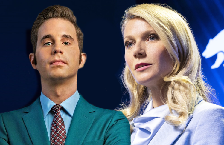 Ben Platt and Gwyneth Paltrow in The Politician (Netflix)