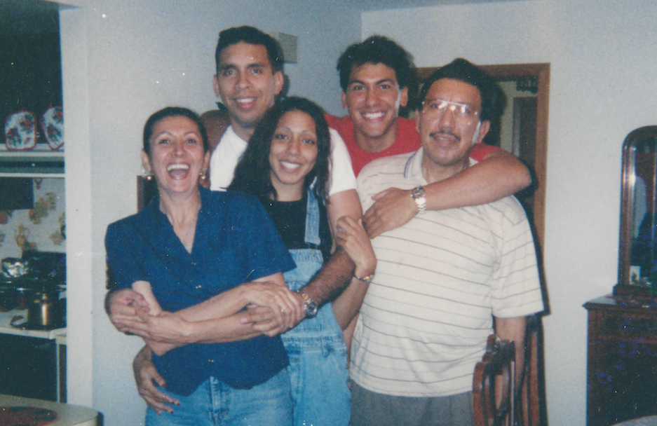 Rey Rivera (in red) photographed with his family. Unlike its more stodgy predecessor, Netflix's  Unsolved Mysteries reboot makes space for grief, guilt, and straight-up weirdness in the stories it tells. (Photo: Netflix)