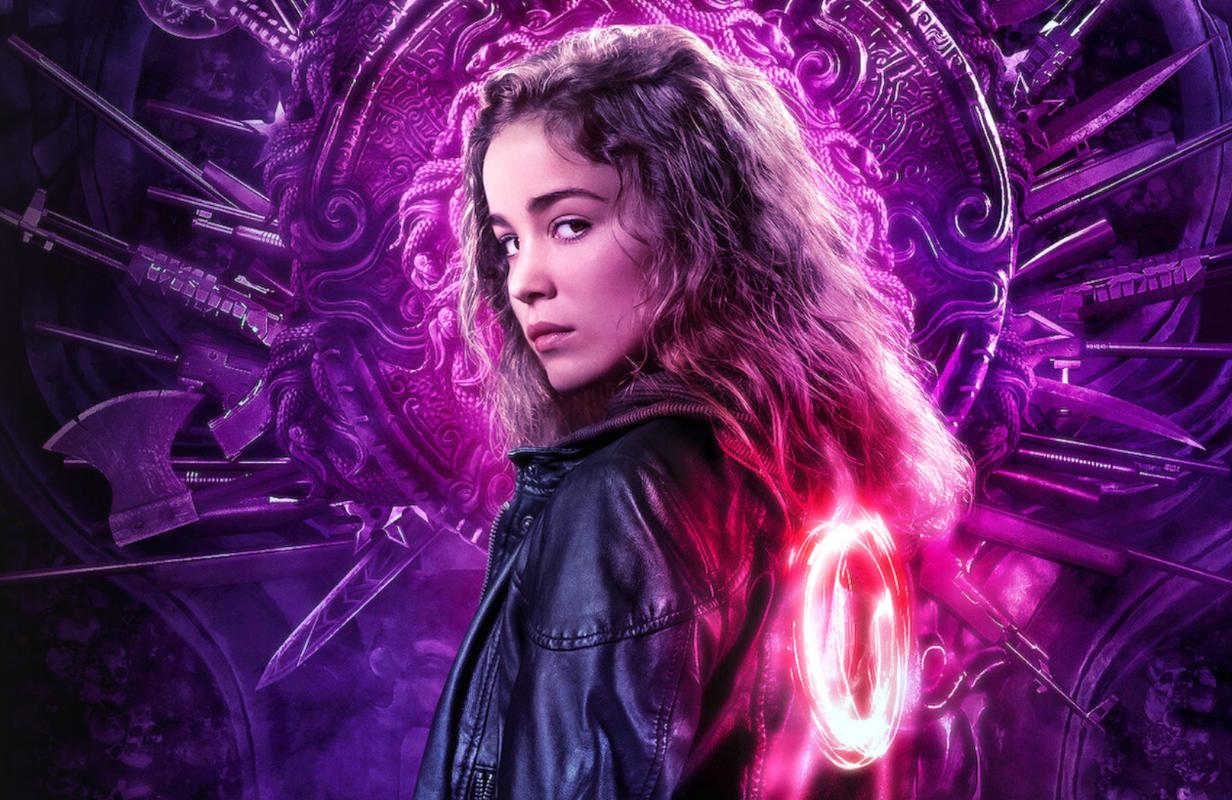 Alba Baptista stars in Warrior Nun. (Netflix)