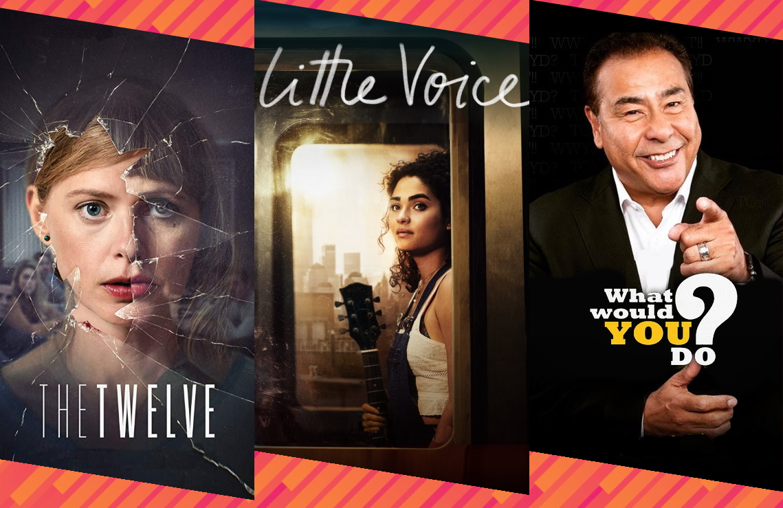 Netflix's The Twelve, Little Voice on Apple TV+ and ABC's What Would You Do?