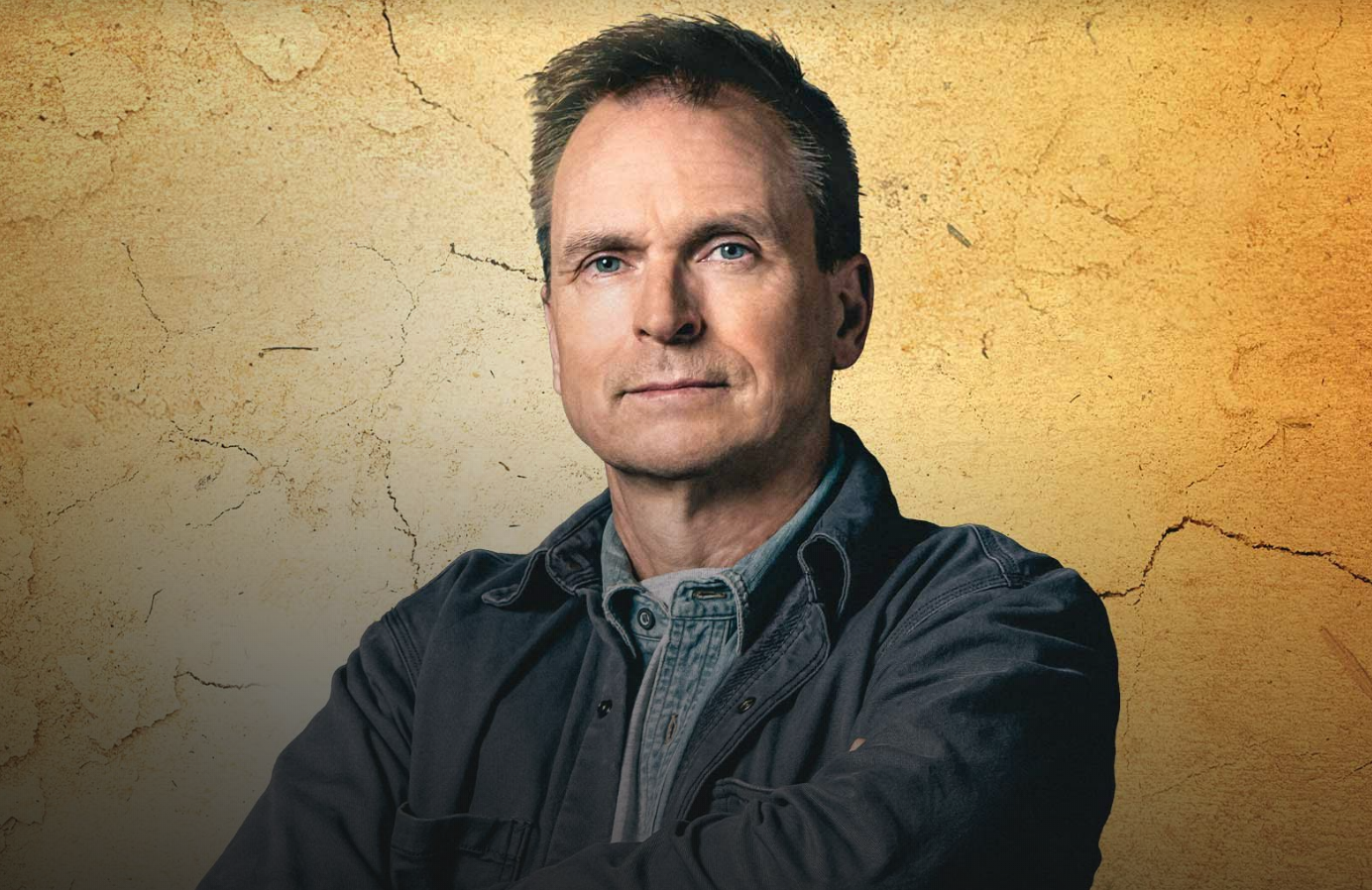 Phil Keoghan in a promotional photo for Tough as Nails. (CBS)