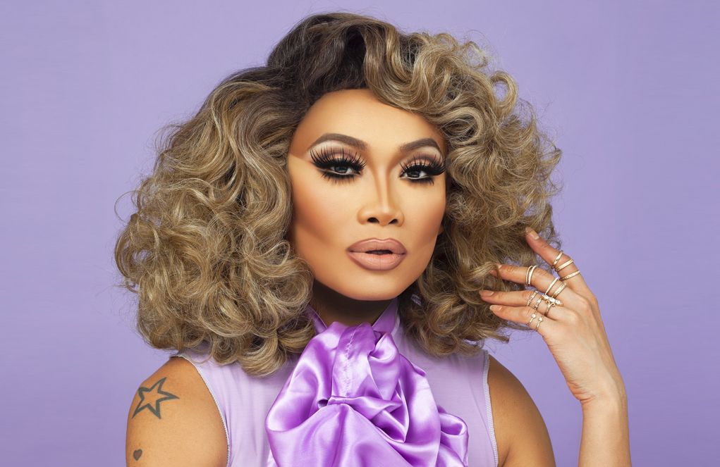 Jujubee on RuPaul's Drag Race: All Stars. (VH1)
