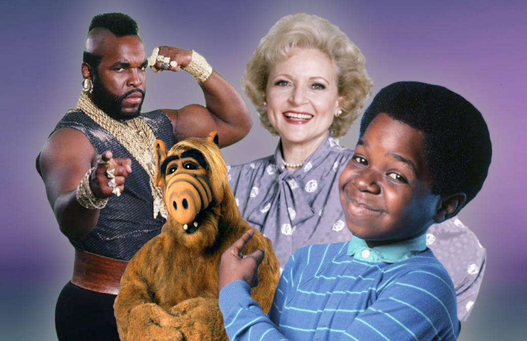 "Stars like Mr T, Alf, Betty White and Gary Coleman implored viewers to ""Be There!"" in 80s-era NBC Fall TV preview specials."