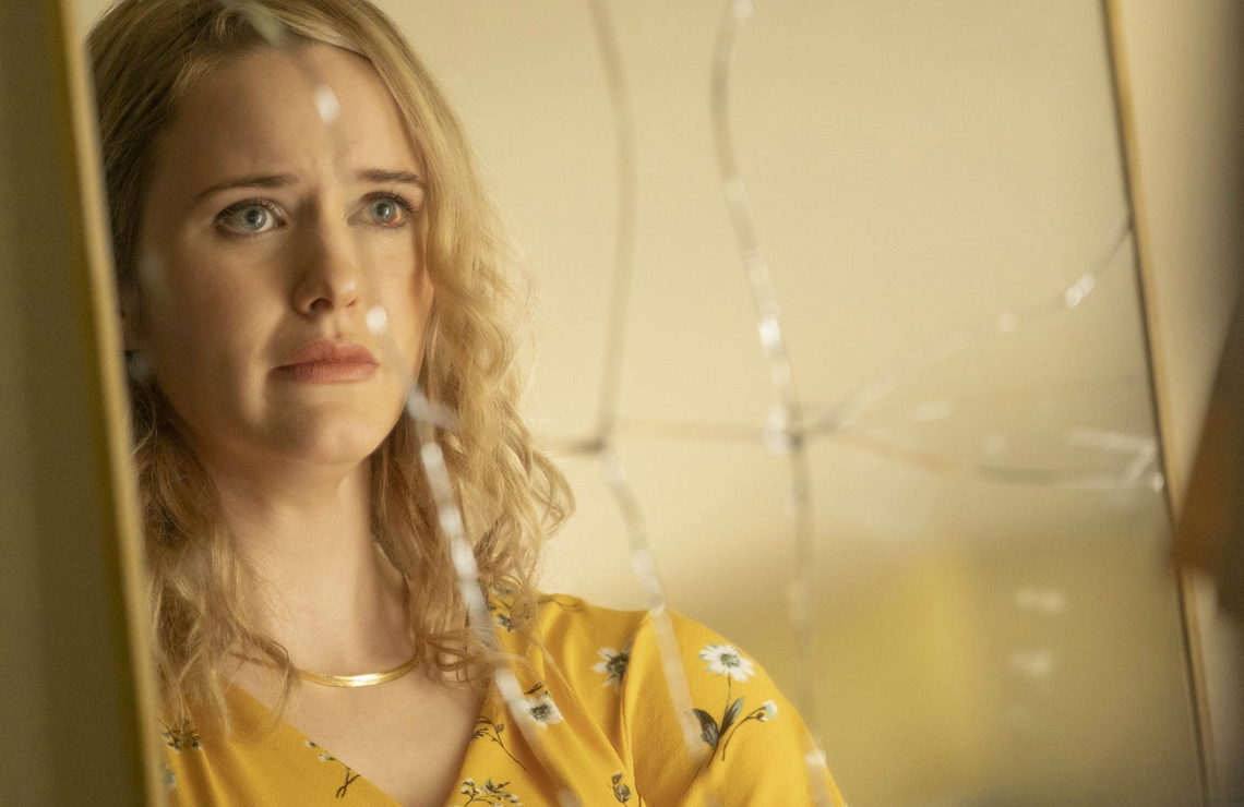 Rachel Brosnahan in 50 States of Fright. (Quibi)