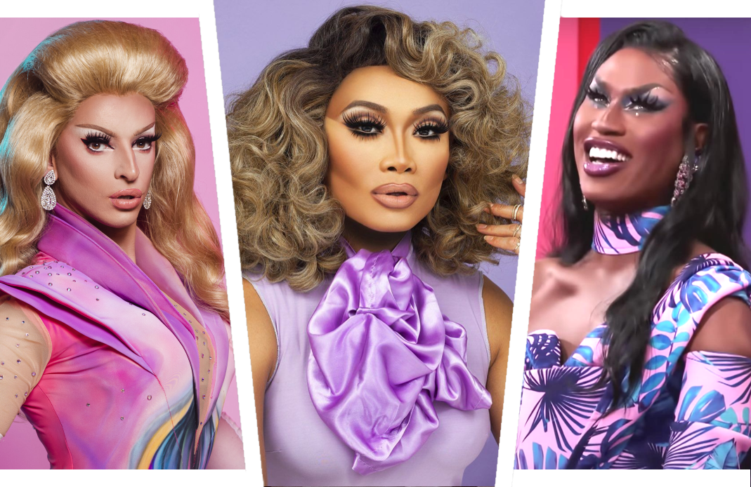 Then there were three: It's down to Miz Cracker, Jujubee and Shea Coulee in tonight's Drag Race All Stars season finale. (VH1)