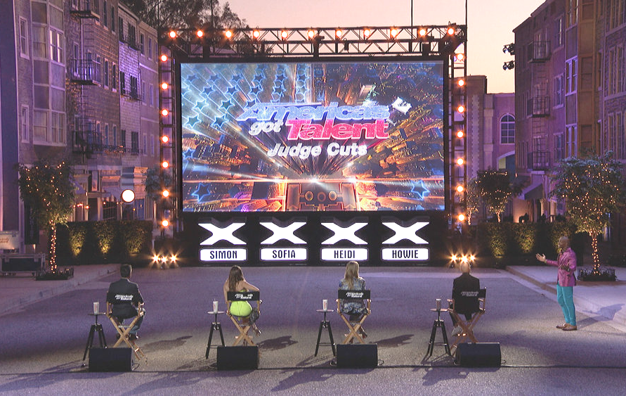 America's Got Talent is channeling the local drive-in for tonight's socially-distant judge cuts episode. (NBC)