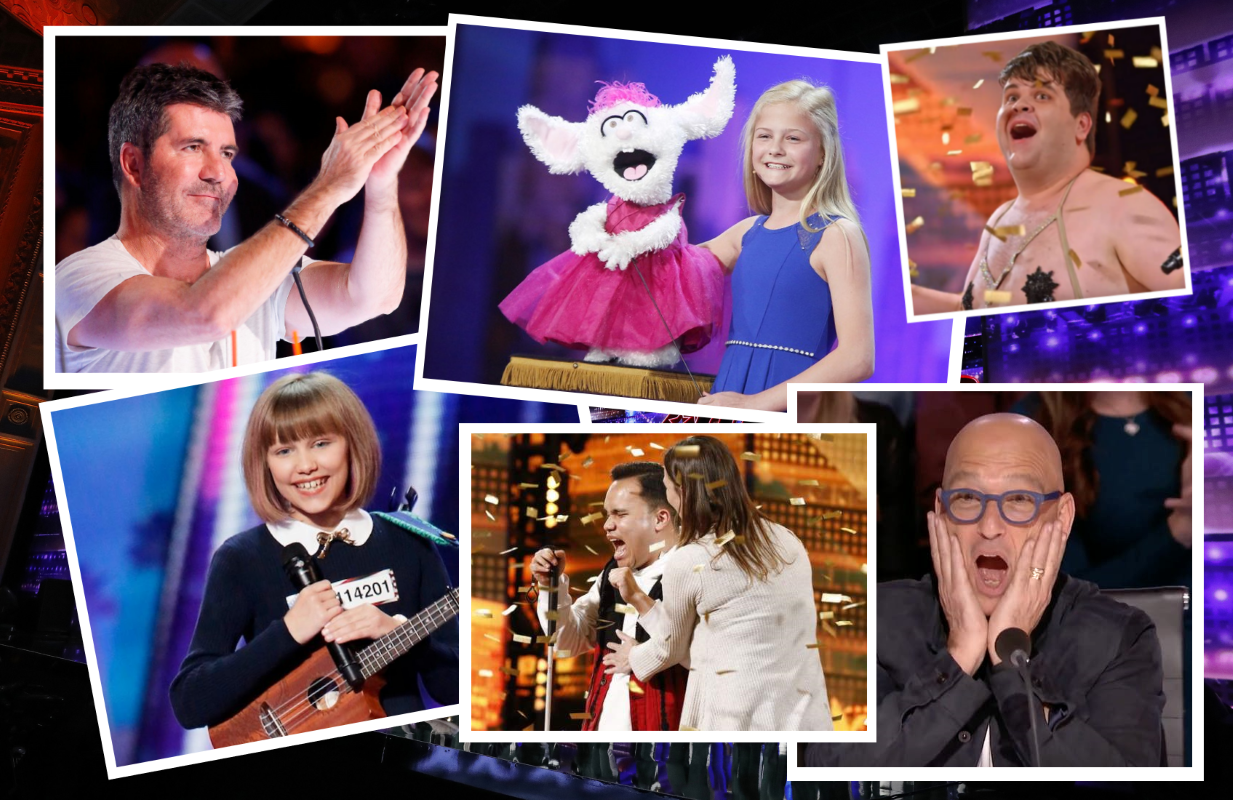 America's Got Talent celebrates 15 years with a retrospective special tonight featuring some of the show's most memorable moments. (Photos: NBC)