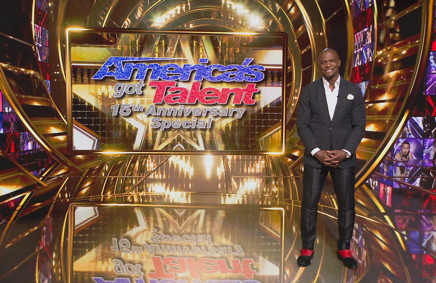 Terry Crews hosts tonight's two-hour AGT anniversary special. (Photo: NBC)