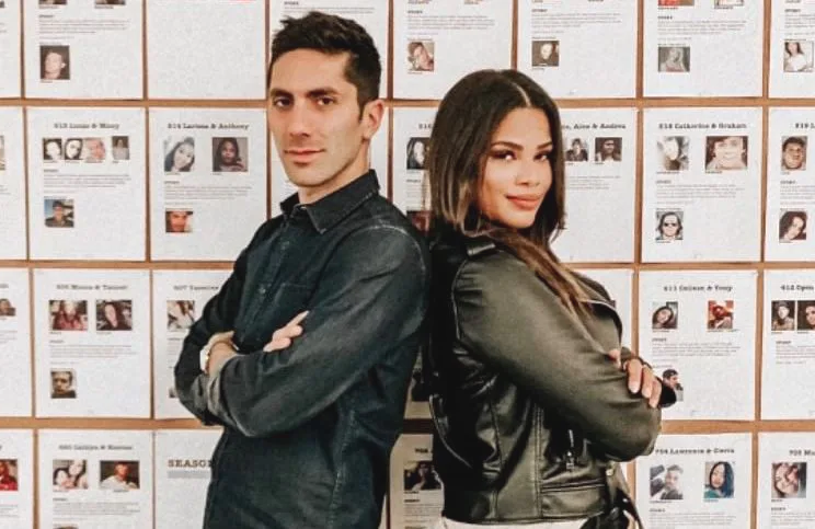 Nev Schulman and Kamie Crawford host Catfish's ninth season, premiering tonight on MTV. (Photo: MTV)
