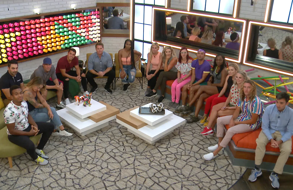 Big Brother gets down to business tonight with the season's first veto competition. (CBS)