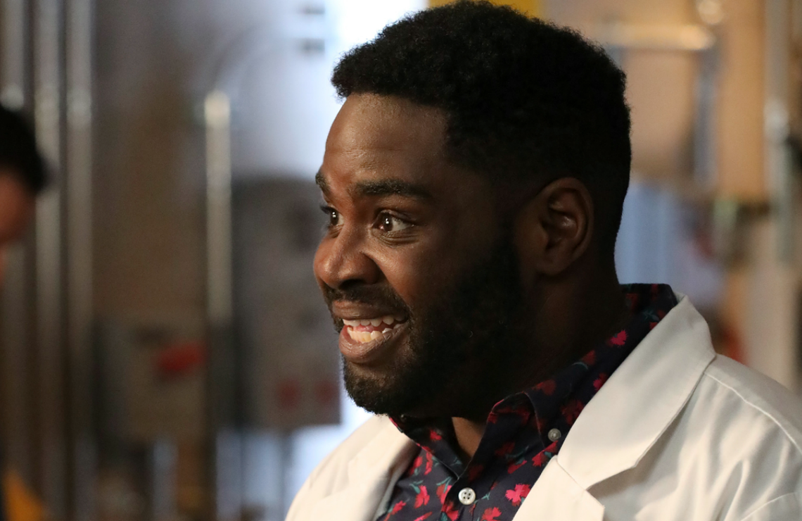 Ron Funches in Powerless. (NBC)
