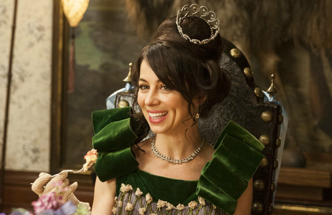 Natasha Leggero in Another Period. (Comedy Central)