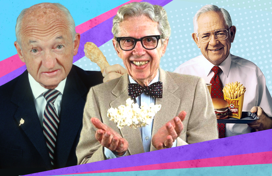 Frank Perdue, Orville Redenbacher and Dave Thomas: the holy trinity of classic company founder TV pitchmen.
