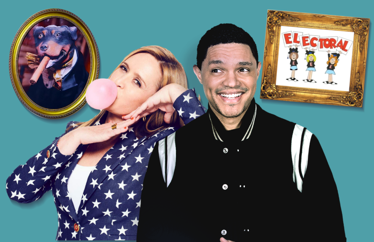 Samantha Bee and Trevor Noah will be covering the DNC this week as only they can. (TBS/Comedy Central)