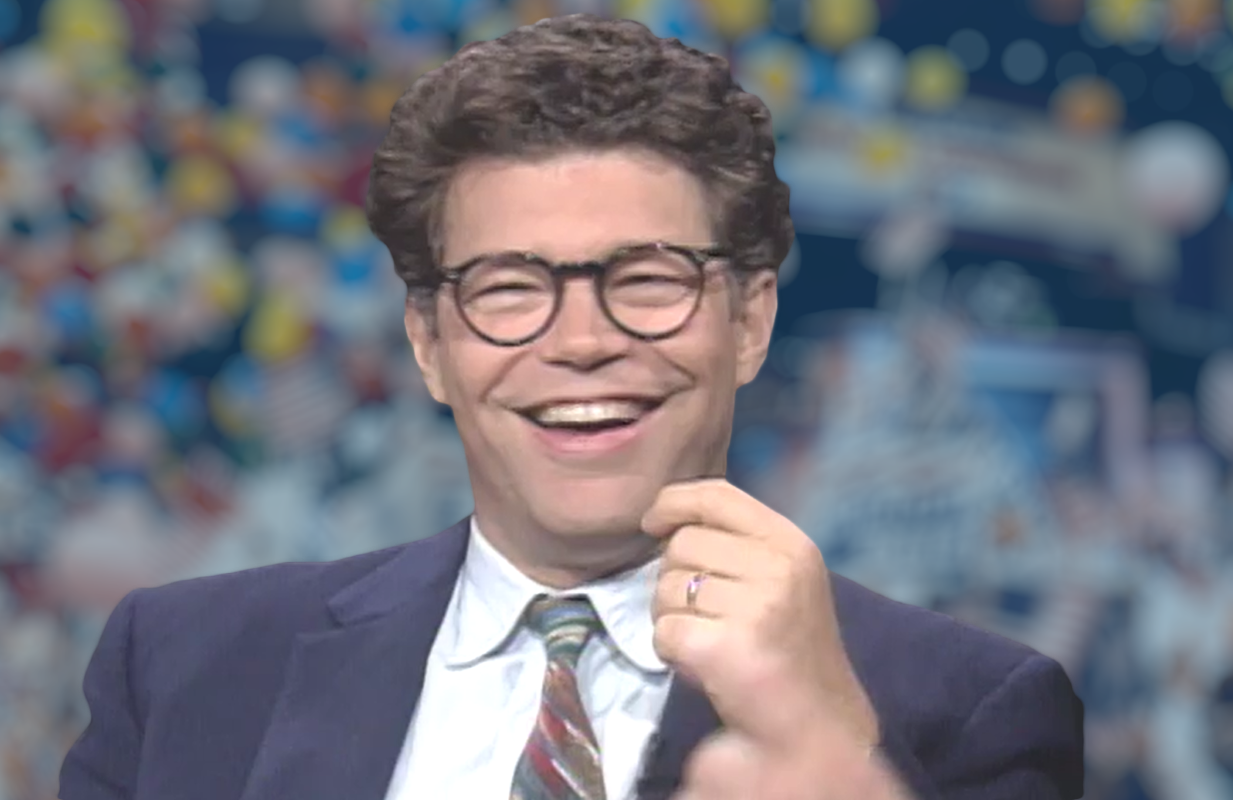 SNL writer (and occasional performer) Al Franken anchored a then-nascent Comedy Central's coverage of the Democratic and Republican national conventions in the summer of 1992.