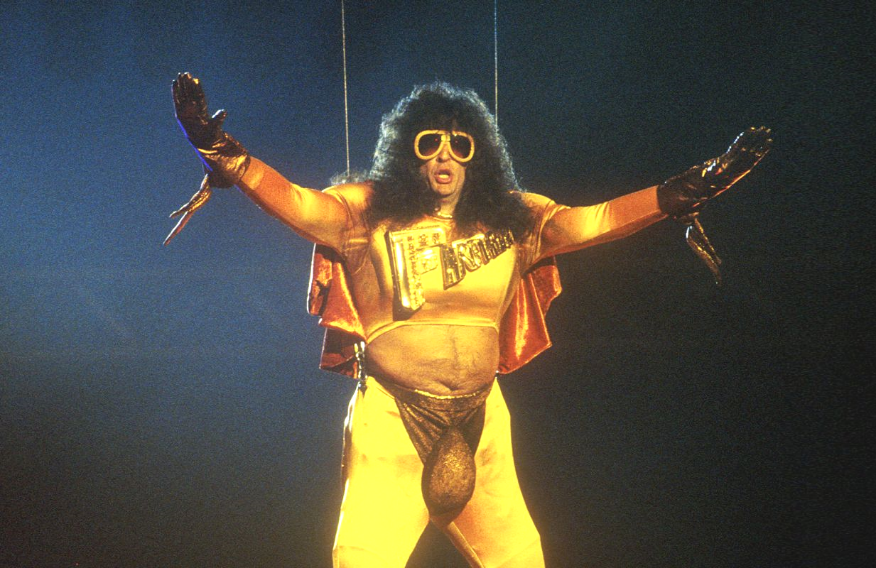 Howard Stern as Fart Man at the 1992 MTV Video Music Awards. (MTV)