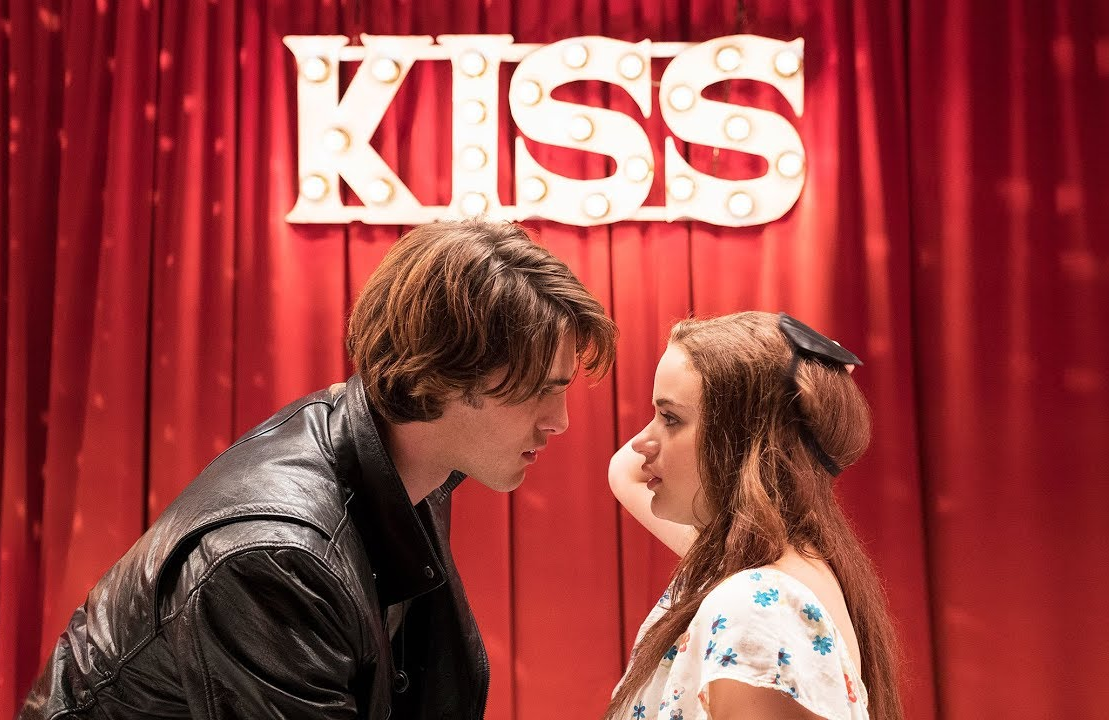 Jacob Elordi and Joey King in The Kissing Booth. (Netflix)