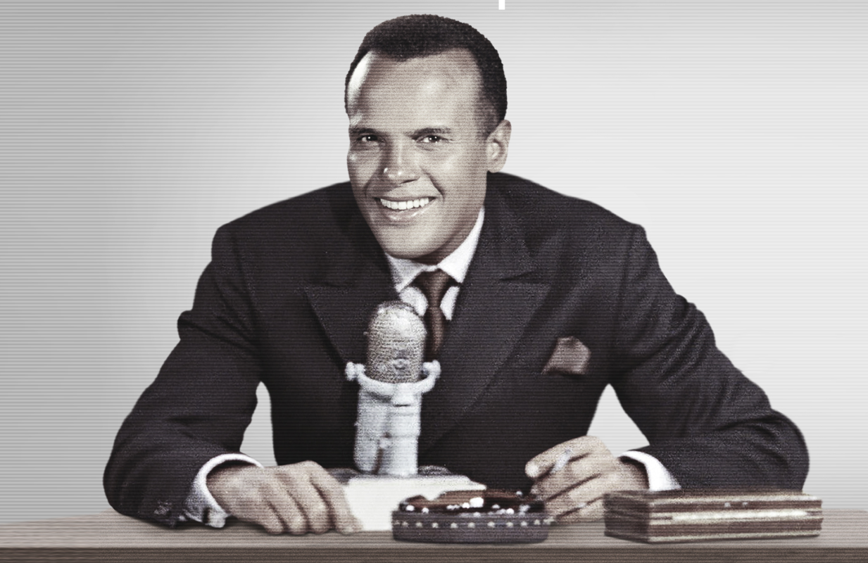 Artwork for The Sit-In: Harry Belafonte Hosts the Tonight Show. (Photo: Peacock)