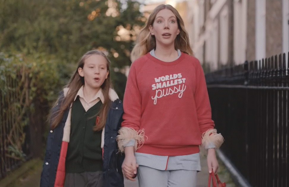 Katherine Ryan and Kate Byrne in The Duchess. (Netflix)