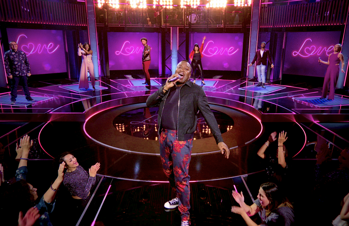 Tituss Burgess hosts Sing On! (Netflix)