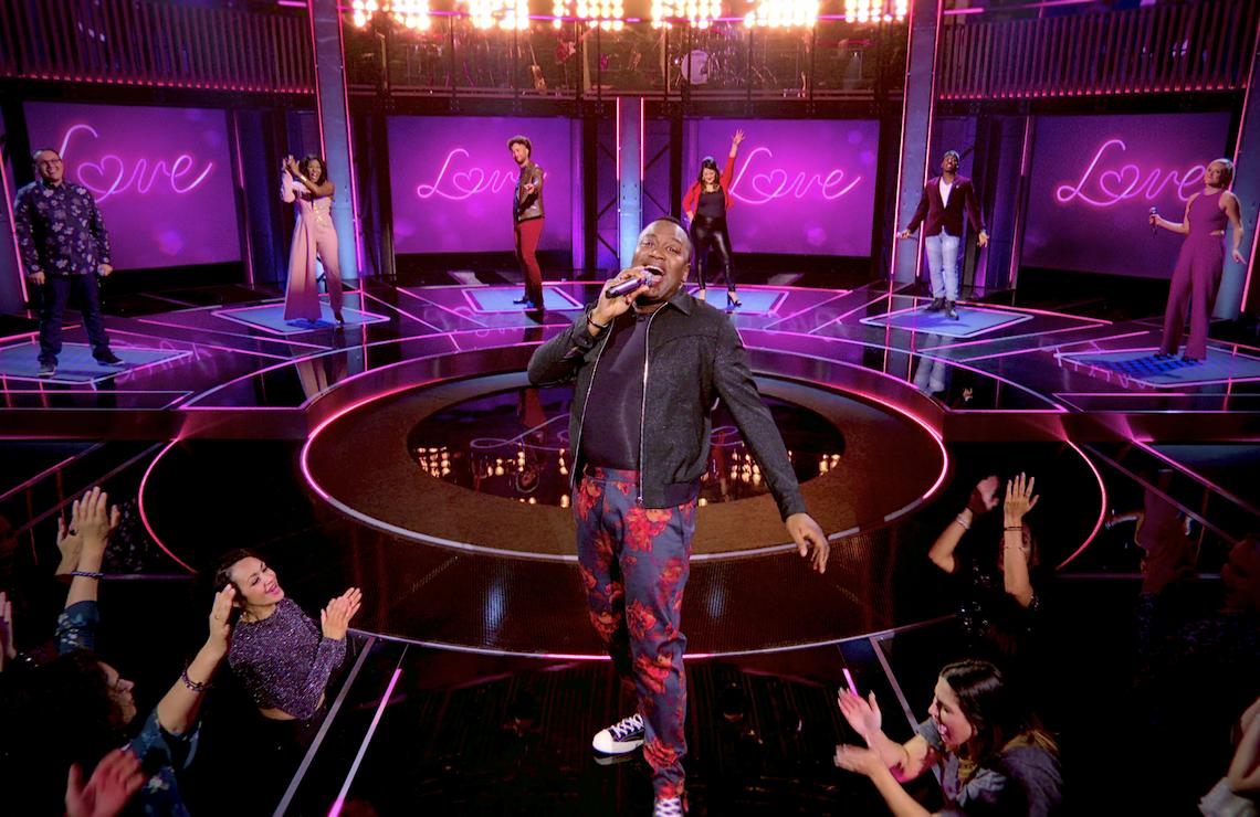 Tituss Burgess hosts Sing On! (Netflix)