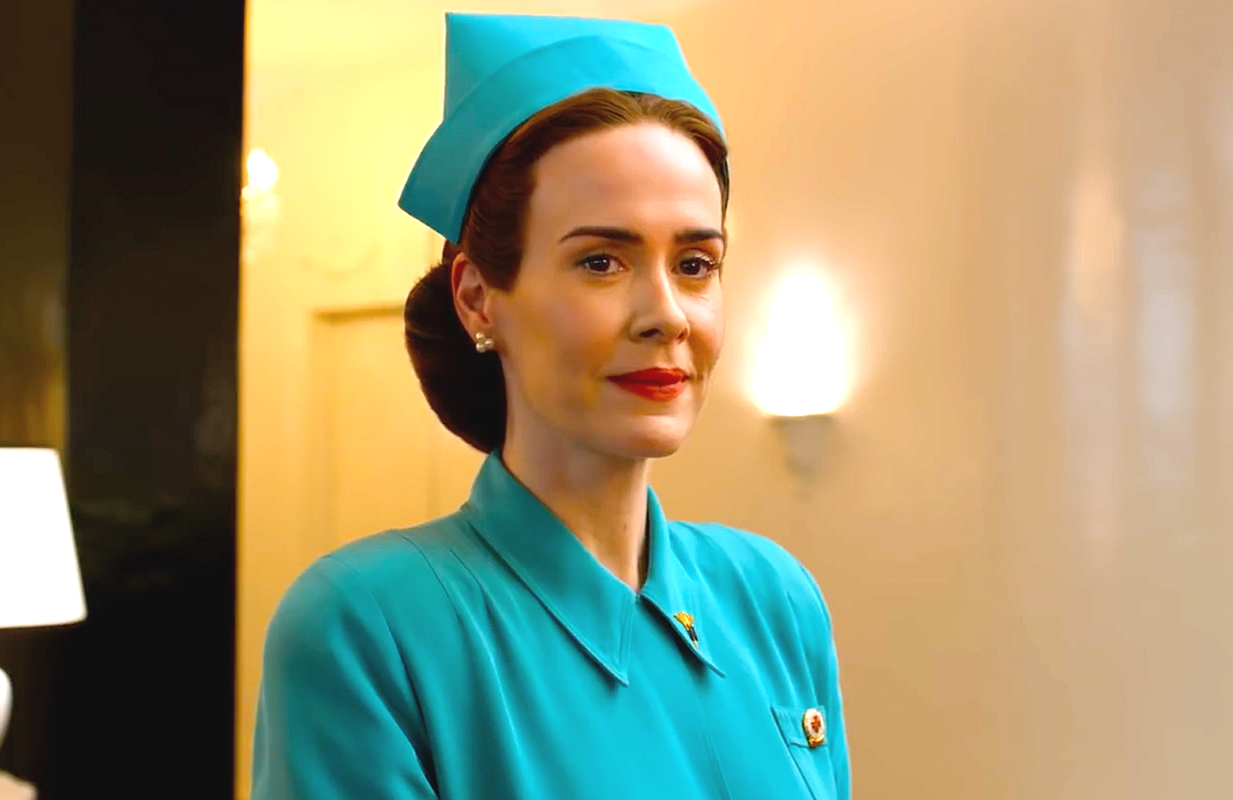 Sarah Paulson stars in Ratched. (Netflix)