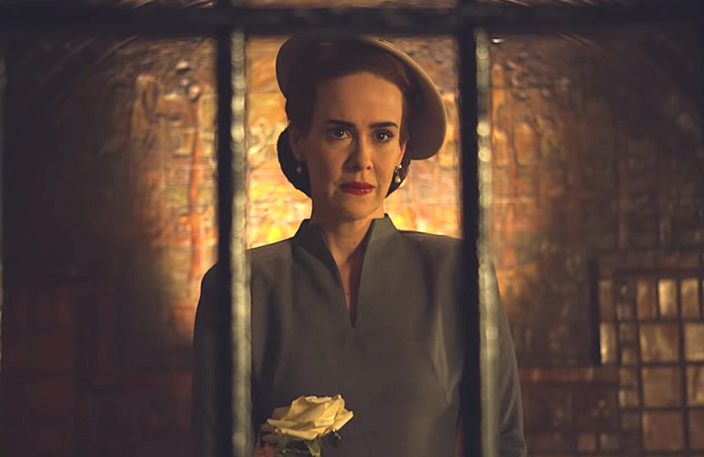 Sarah Paulson as Nurse Mildred Ratched (Netflix)