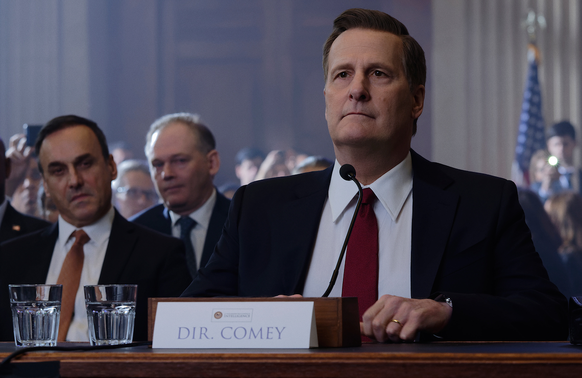 Jeff Daniels in The Comey Rule. (Showtime)