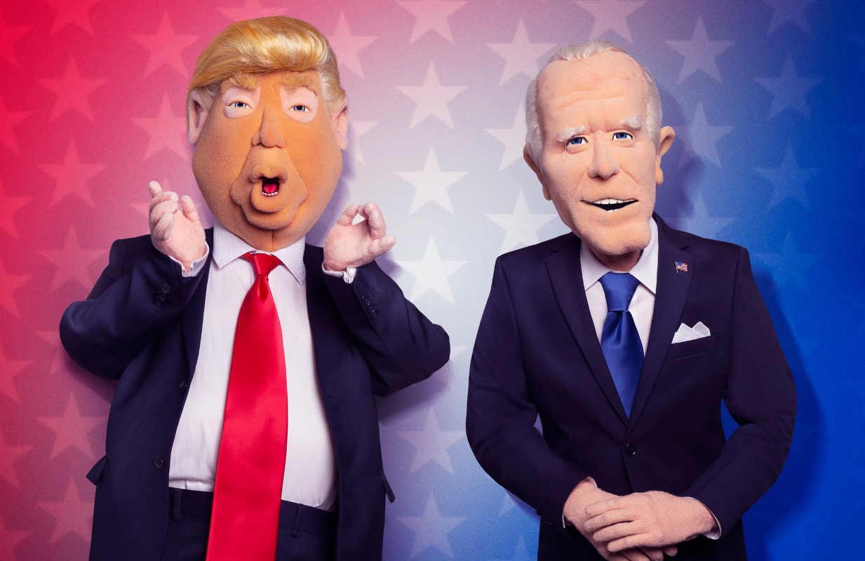 Robert Smigel's new election special Let's Be Real sets out to prove all politicians are puppets. (Photo: Fox)