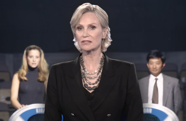 Jane Lynch hosts NBC's The Weakest Link revival.