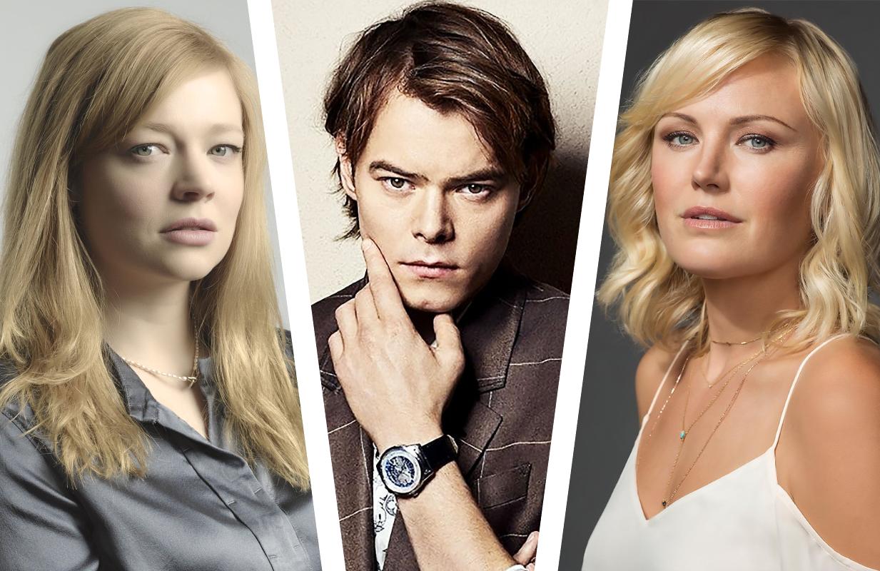 Sarah Snook, Charlie Heaton and Malin Akerman are among the stars of AMC's Soulmates.