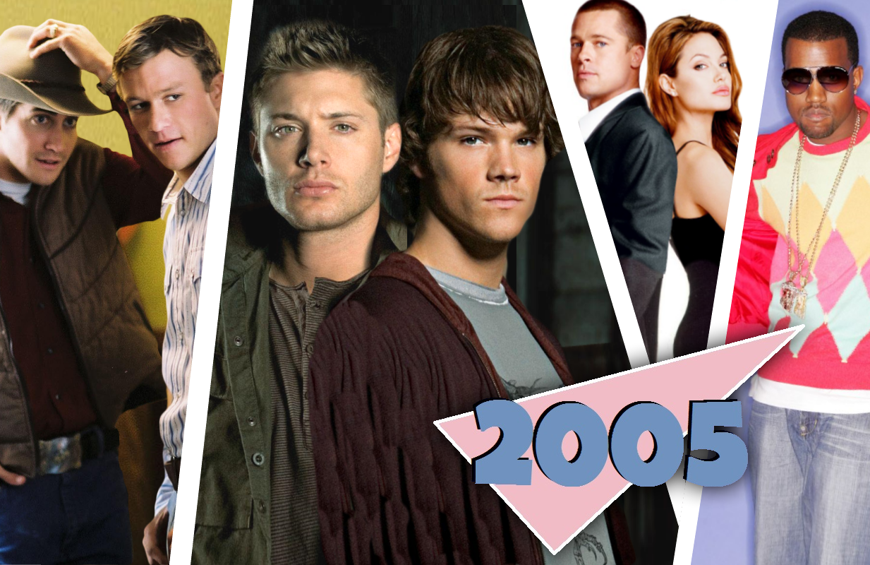 Supernatural's 2005 pop culture contemporaries are either dinosaurs or running for president.
