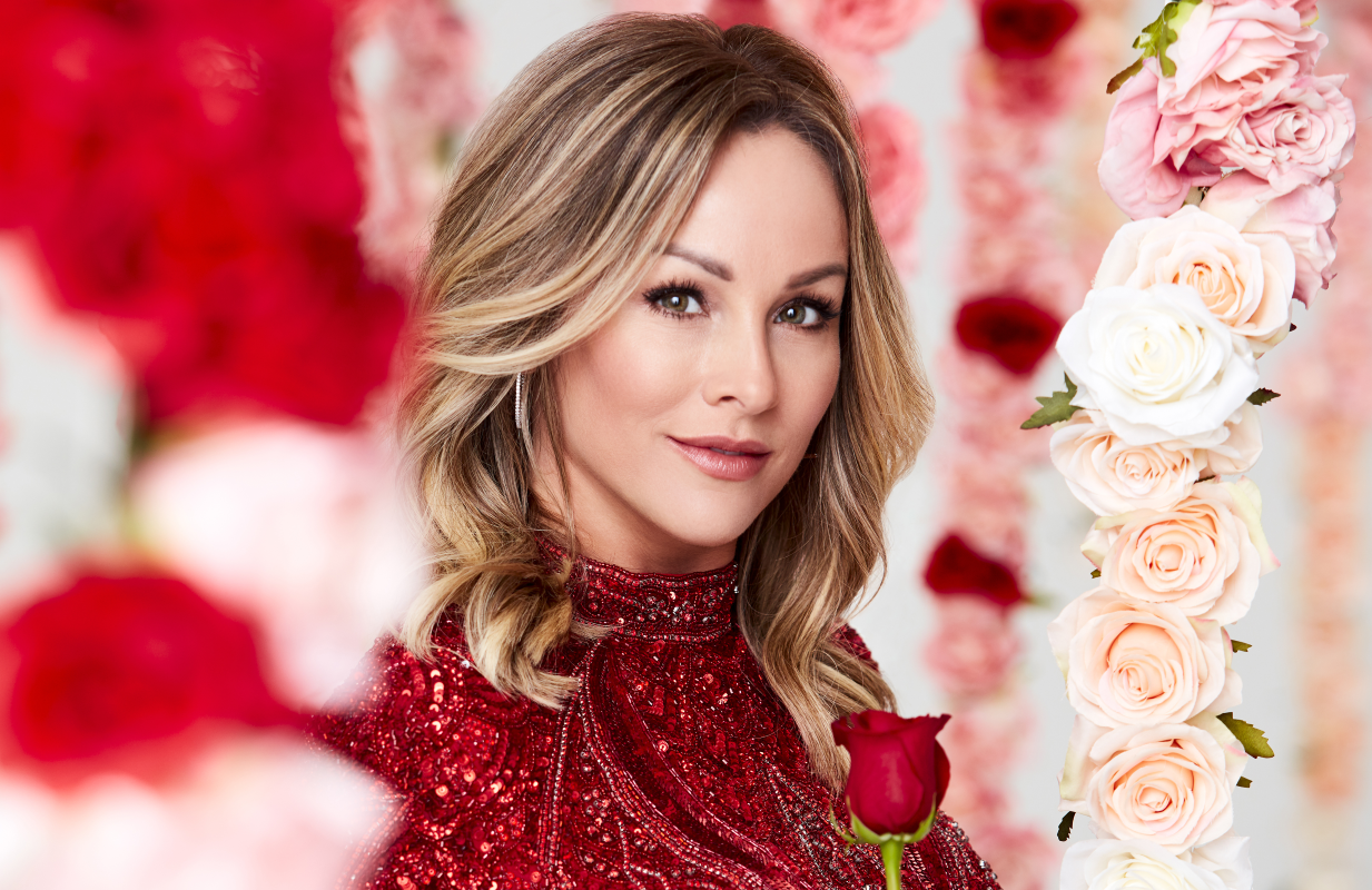 Clare Crawley in a promotional photo for The Bachelorette. (Photos: ABC)