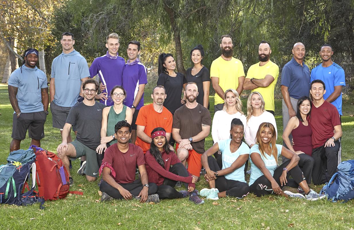 The cast of Season 32 of The Amazing Race: (Photo: Sonja Flemming/CBS)