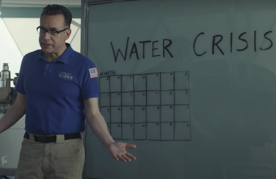 Fred Armisen in Moonbase 8. (Showtime)