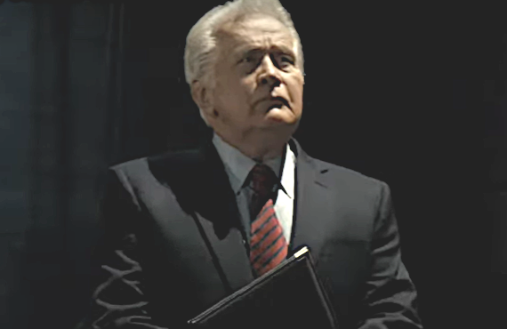 Martin Sheen in A West Wing Special. (HBO Max)