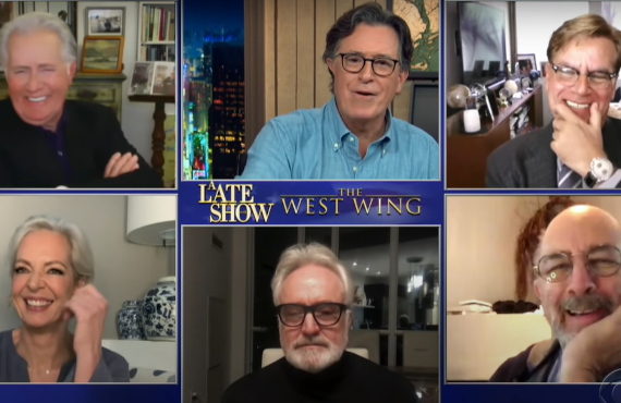 The Cast of The West Wing on The Late Show with Stephen Colbert (CBS)