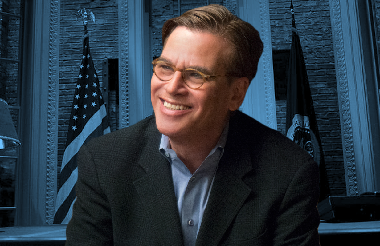 Aaron Sorkin is wading back into political waters with two politically-charged projects this week: A West Wing Special to Benefit When We All Vote on HBO Max and Netflix's The Trial of the Chicago 7.
