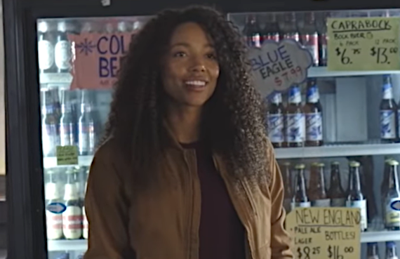 Kylie Bunbury in Big Sky; (ABC)