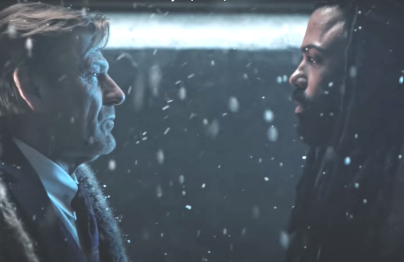 Sean Bean vs. Daveed Diggs in <i>Snowpiercer</i> (TNT)