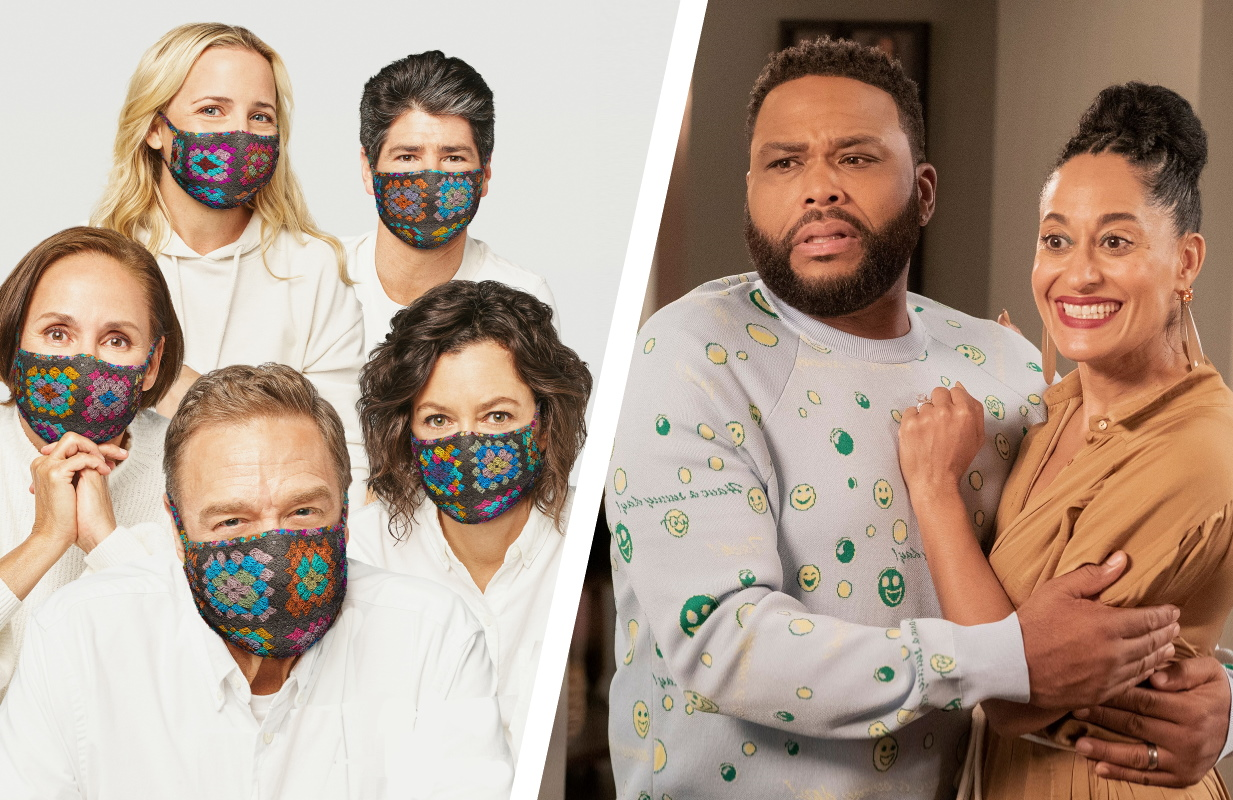 The Conners and Black-ish return for their third and seventh seasons, respectively. (Photos: ABC)