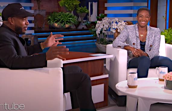 Marlon Wayans and Tiffany Haddish on Ellen