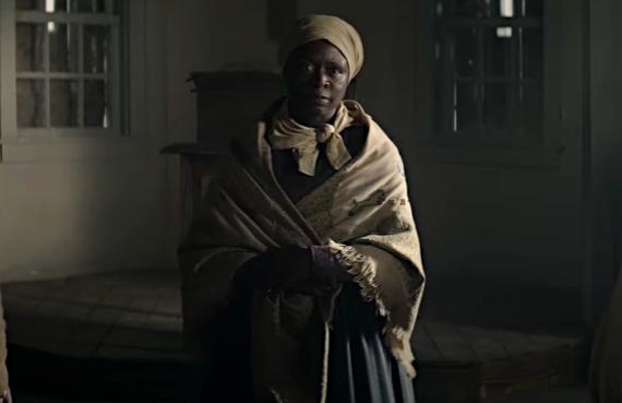 Zainab Jah as Harriet Tubman in The Good Lord Bird (Showtime)